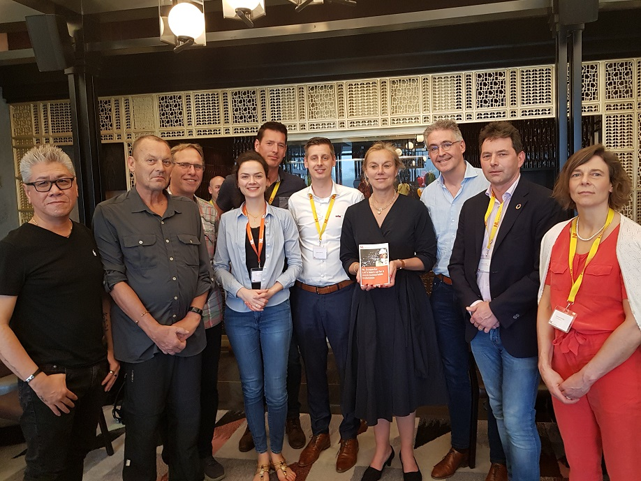 Minister Sigrid Kaag and the PIB Team Waste and CE in Jakarta