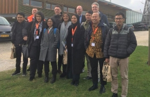 Indonesian journalists visit the Ecopark cluster